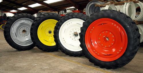 roues de tracteur agricole - photo #21