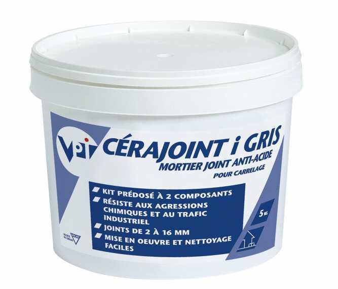 Mortier joint anti-acide pour carrelage. - cérajoint i