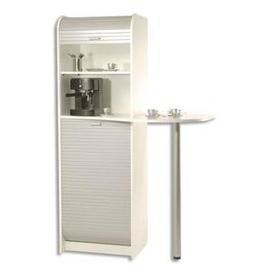 meuble de rangement pour machine a cafe et four micro ondes 3 colis simmob. Black Bedroom Furniture Sets. Home Design Ideas