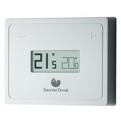 thermostat lectronique saunier duval achat vente de thermostat lectronique saunier duval. Black Bedroom Furniture Sets. Home Design Ideas