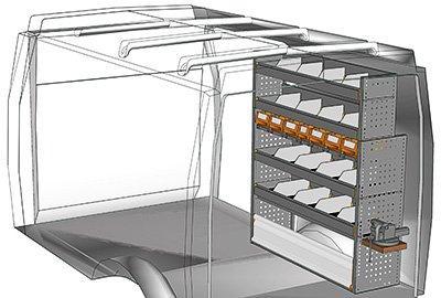 meuble de rangement pour v hicule utilitaire comparez. Black Bedroom Furniture Sets. Home Design Ideas
