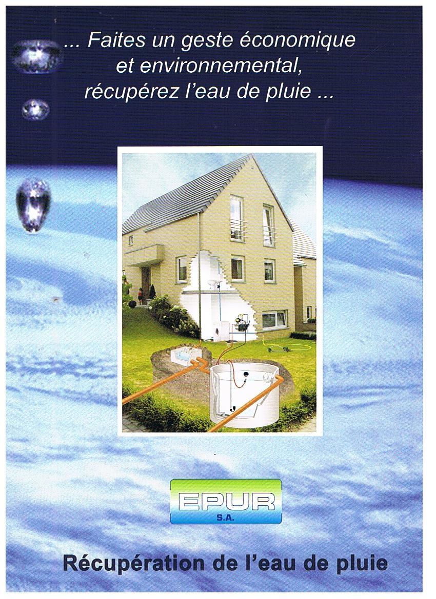 Recuperateur d 39 eau de pluie - Systeme de recuperation d eau de pluie ...