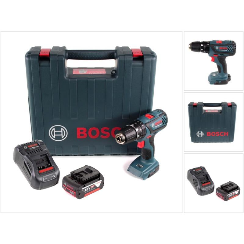 BOSCH GSB 18-2-LI PLUS PROFESSIONAL 18 V PERCEUSE-VISSEUSE À PERCUSSION 2458bc4a873e