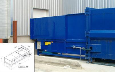 Compacteur poste fixe rb3800