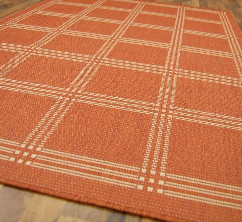 carpetto tapis orange 120x170 cm - Tapis Orange