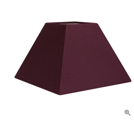 abat jour pyramide violet. Black Bedroom Furniture Sets. Home Design Ideas