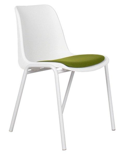 Zuiver chaise  back to gym blanche et verte