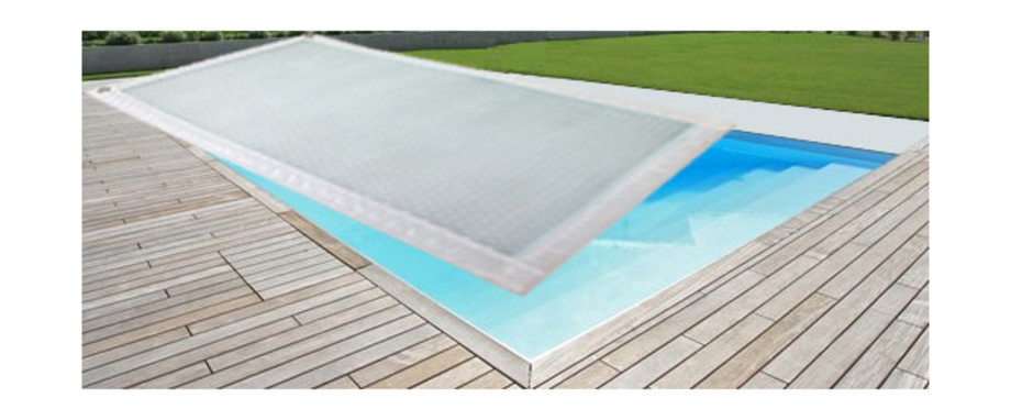 Magic 400 bache solaire transparente pour piscine for Piscine bache a bulle
