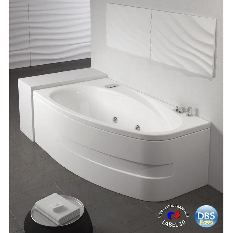 dbs luxe asymetrique version droite 170 x 90 dbs. Black Bedroom Furniture Sets. Home Design Ideas