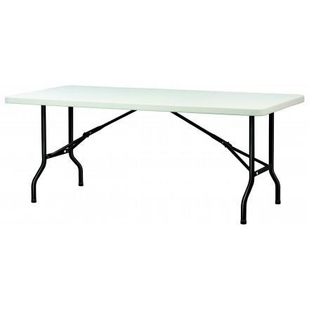 table polypro rectangulaire 200 x 90 cm. Black Bedroom Furniture Sets. Home Design Ideas