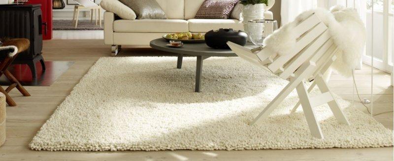 venice tapis epais creme 140x200 cm. Black Bedroom Furniture Sets. Home Design Ideas