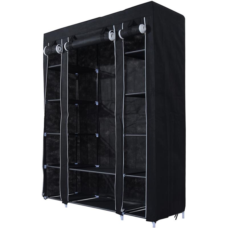 penderie homcom achat vente de penderie homcom. Black Bedroom Furniture Sets. Home Design Ideas
