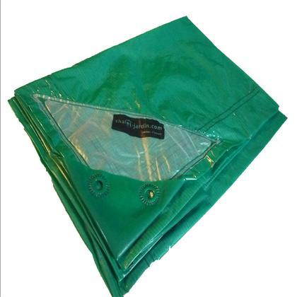 Bache de protection titanium 4x5m 570v comparer les prix for Housse compactor castorama