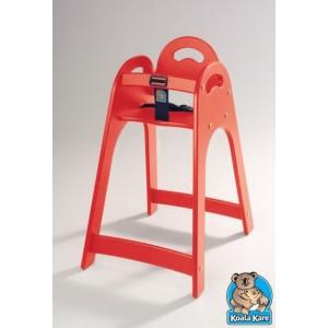 chaise haute plastique rouge. Black Bedroom Furniture Sets. Home Design Ideas