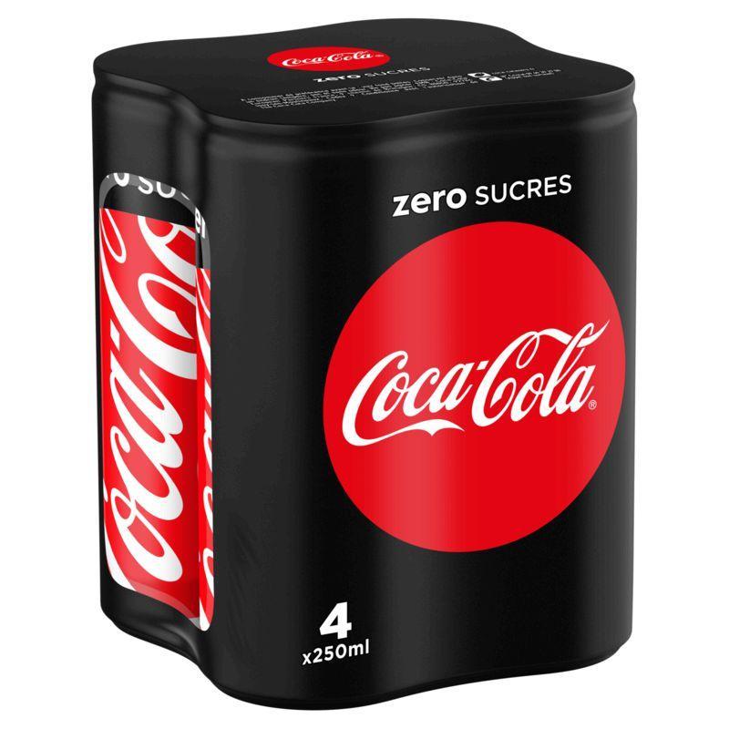 Coca-cola zéro 4x25cl