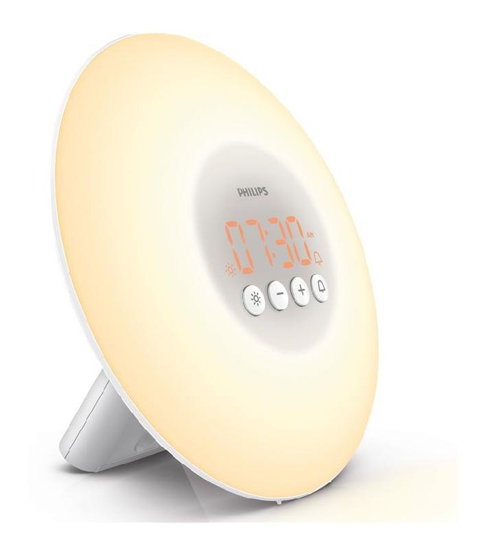 r veil lumineux philips hf3500 comparer les prix de r veil lumineux philips hf3500 sur. Black Bedroom Furniture Sets. Home Design Ideas