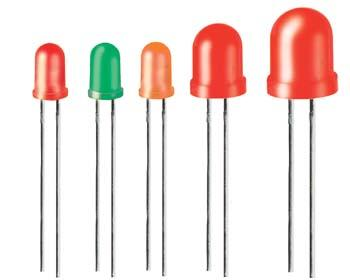 diode electroluminescente diffuse