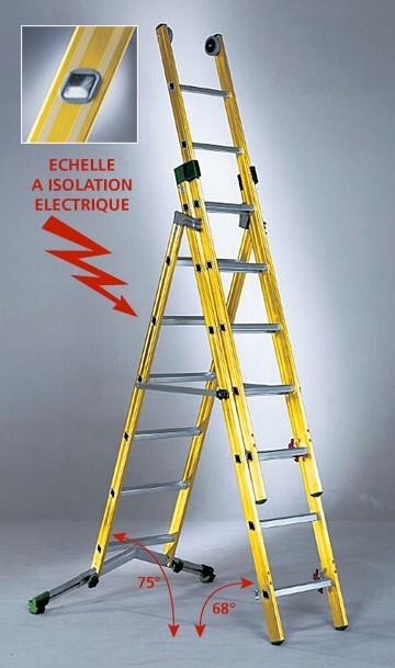 Fabriscal sarl hagusien produits echelle transformable - Echelle transformable 3 plans ...