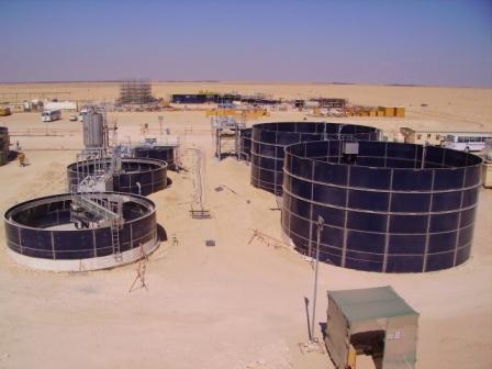 Bassins pour stations de traitement d'eau