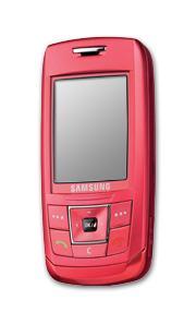 TéLéPHONE MOBILE COULISSANT -  SAMSUNG E250 PINK
