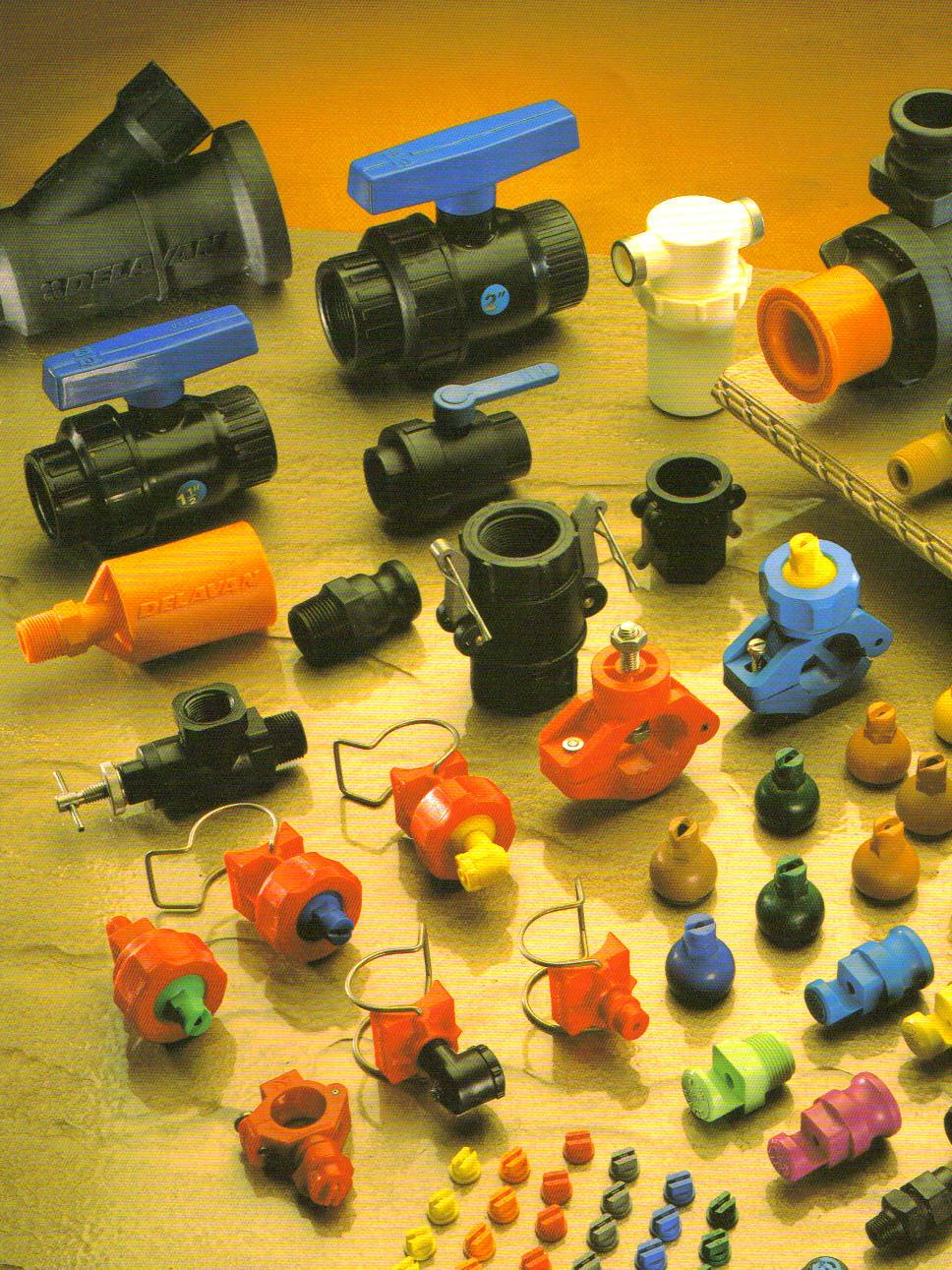 Accessoires pour systemes de pulverisation