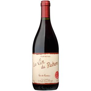 Vin de table rouge le vin du patron 12° bouteille 75 cl