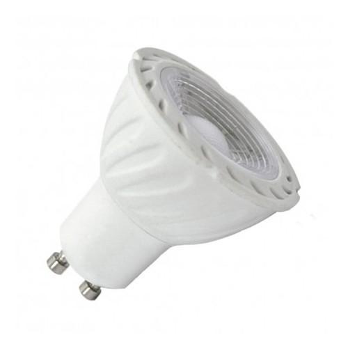 AMPOULE LED 5 WATT CULOT GU10  COB  VERT  75° BLI