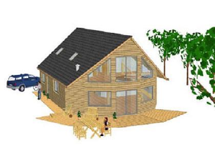 maison de cedre produits maisons a ossature en bois. Black Bedroom Furniture Sets. Home Design Ideas