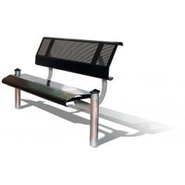 banc metallique mercure 1480 mm ref 8209145. Black Bedroom Furniture Sets. Home Design Ideas