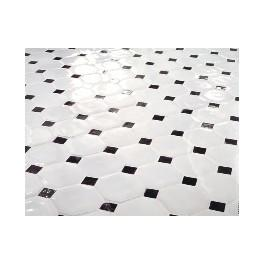 Interesting carrelage de sol en grs with carrelage for Carrelage octogonal blanc