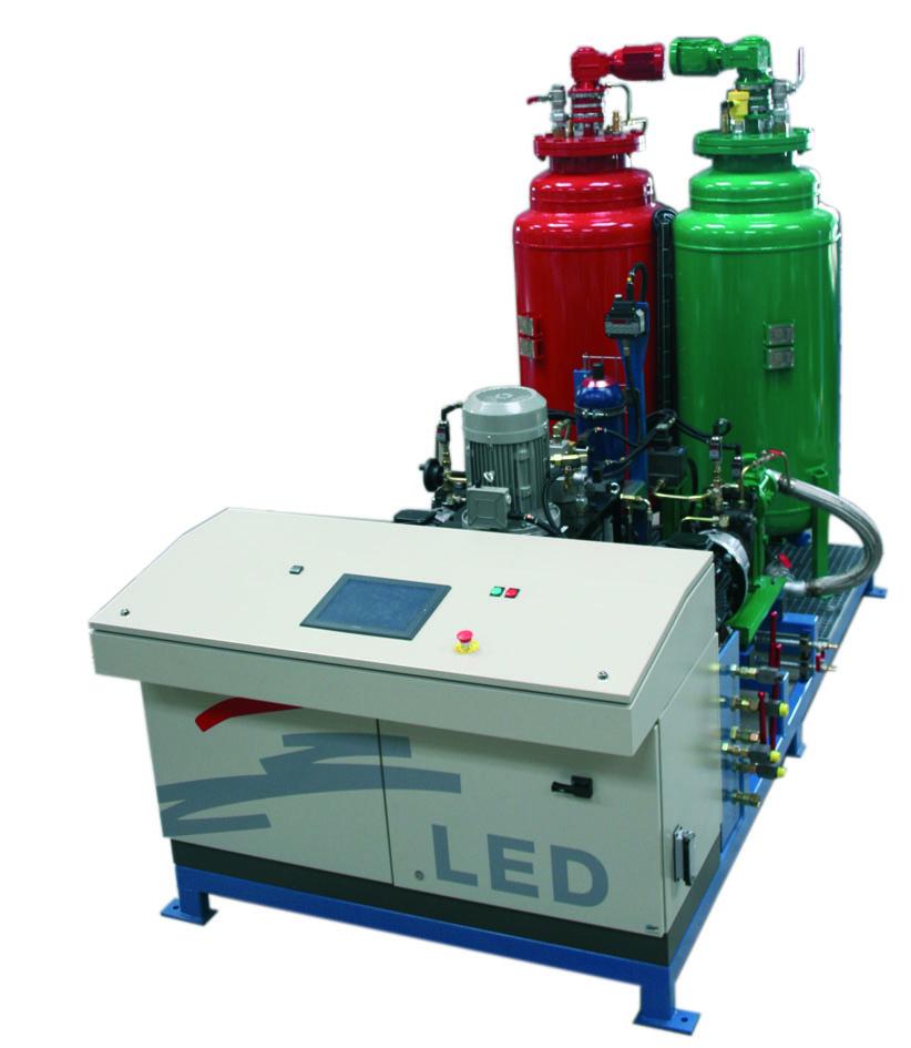 Machine injection polyurethane