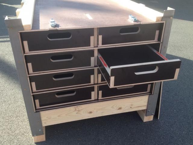 Caisse bois reutilisable