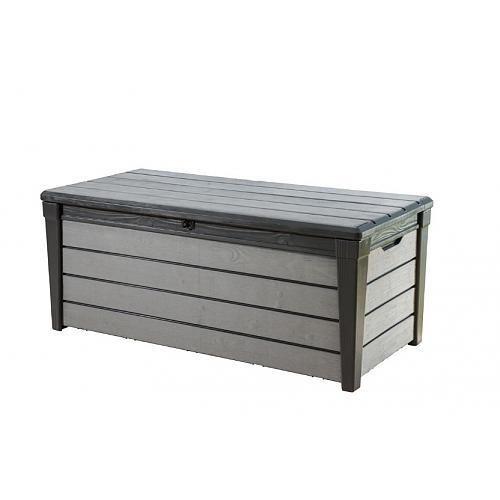 Malle et coffre keter achat vente de malle et coffre for Malle jardin gris 420l