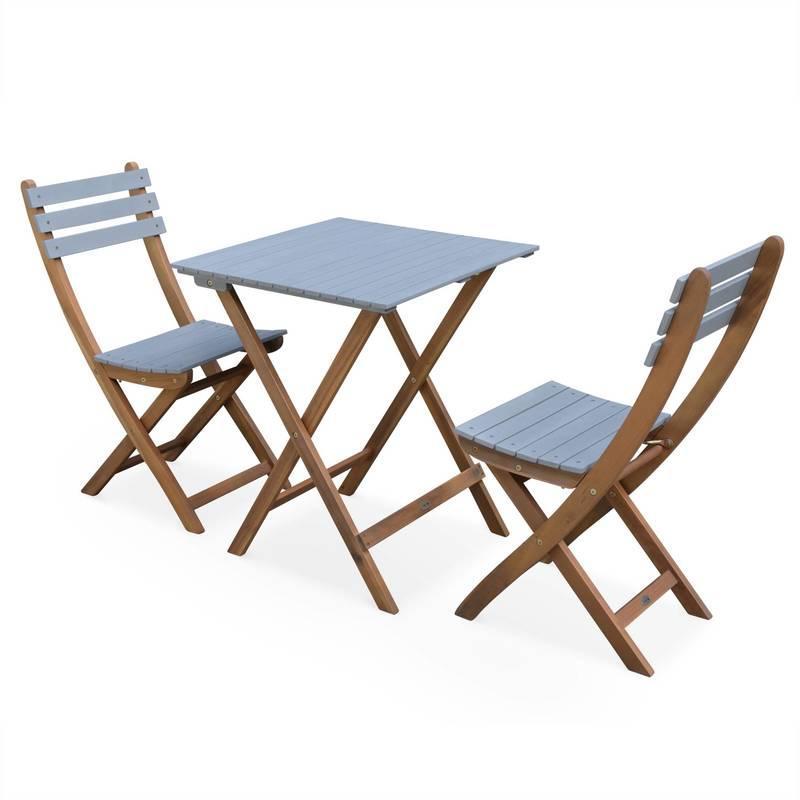 TABLE DE JARDIN EN BOIS ALMERIA 120-180CM RECTANGULAIRE AVEC ALLONGE ...