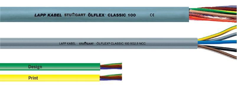 CÂBLE SOUPLE ÖLFLEX® CLASSIC 100 À GAINE PVC ET CODE COULEURS