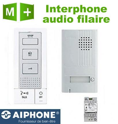 interphone sans fil aiphone achat vente de interphone. Black Bedroom Furniture Sets. Home Design Ideas