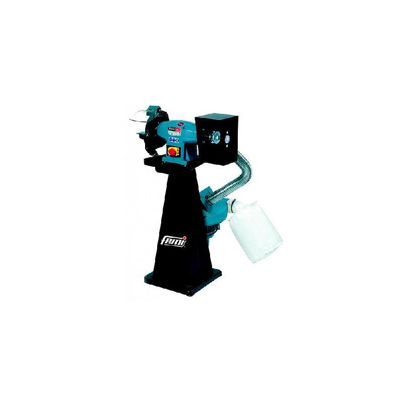 Touret/polisseuse écologique série industrie d. 300 mm 400v 2200 w - meule comprise - 200/m - femi