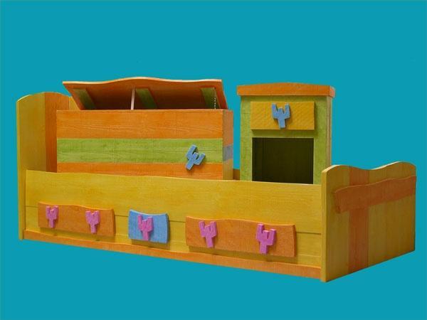 lit coffre a jouer et chevet pour enfant ref lit acid. Black Bedroom Furniture Sets. Home Design Ideas