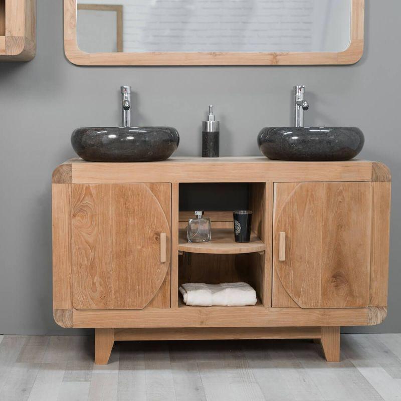 Mobiliers de salle de bain wanda collection achat vente de mobiliers de salle de bain wanda - Meuble de salle de bain retro ...