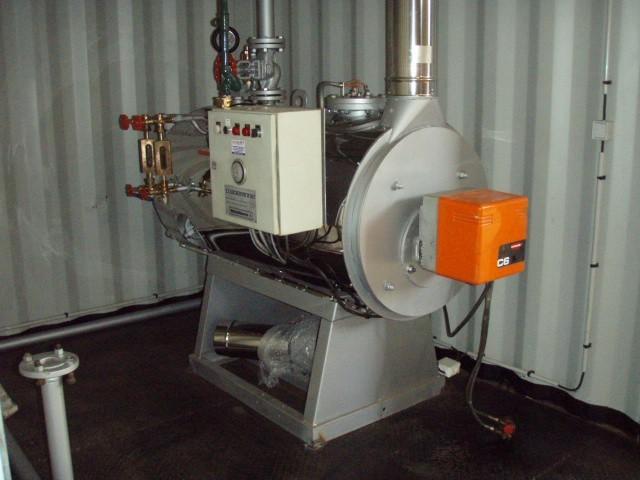 Chaudière vapeur reconditionnee 250 kg/h - 10 bar - gaz ou fioul