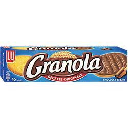 GÂTEAUX LU GRANOLA AU CHOCOLAT AU LAIT - 200 G
