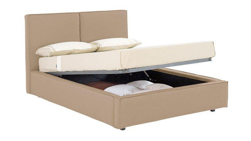 lit coffre design squadra couchage 2 personnes 140 200cm. Black Bedroom Furniture Sets. Home Design Ideas