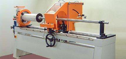Machine de coupe tronconneuse rouleau