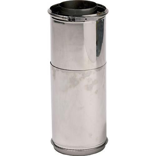 Tubage double paroi inox 316 304 153x200 r glable de for Tubage inox double paroi prix
