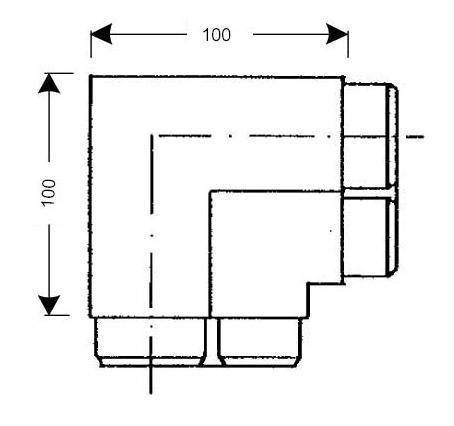 Angle pour joint caoutchouc pour chambre froide jcr 040 - Joint porte chambre froide ...