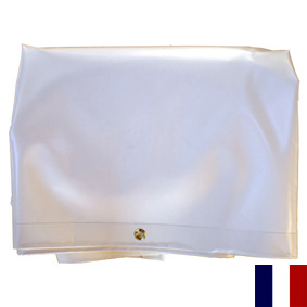 Bache en pvc couleur blanc 340000 for Prix bache pvc