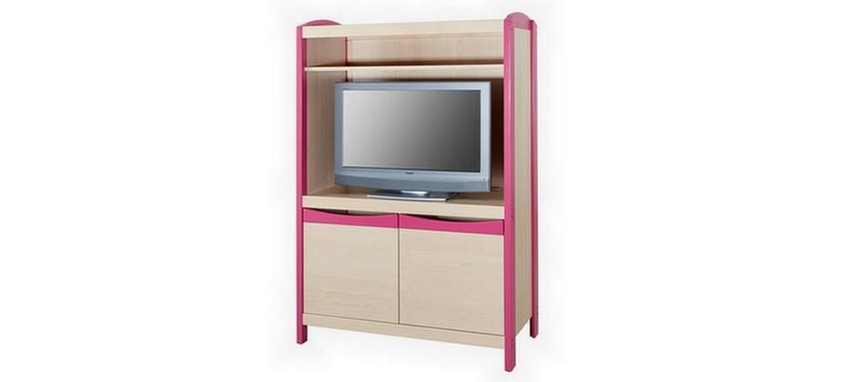 meuble video modele ouvert rangements mobilier petite enfance. Black Bedroom Furniture Sets. Home Design Ideas