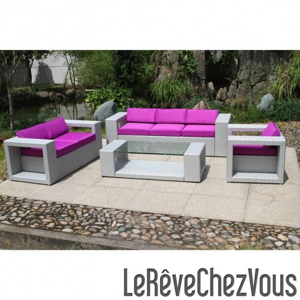 Salon De Jardin En Pvc. Good Superbe Collection De Salon De Jardin ...