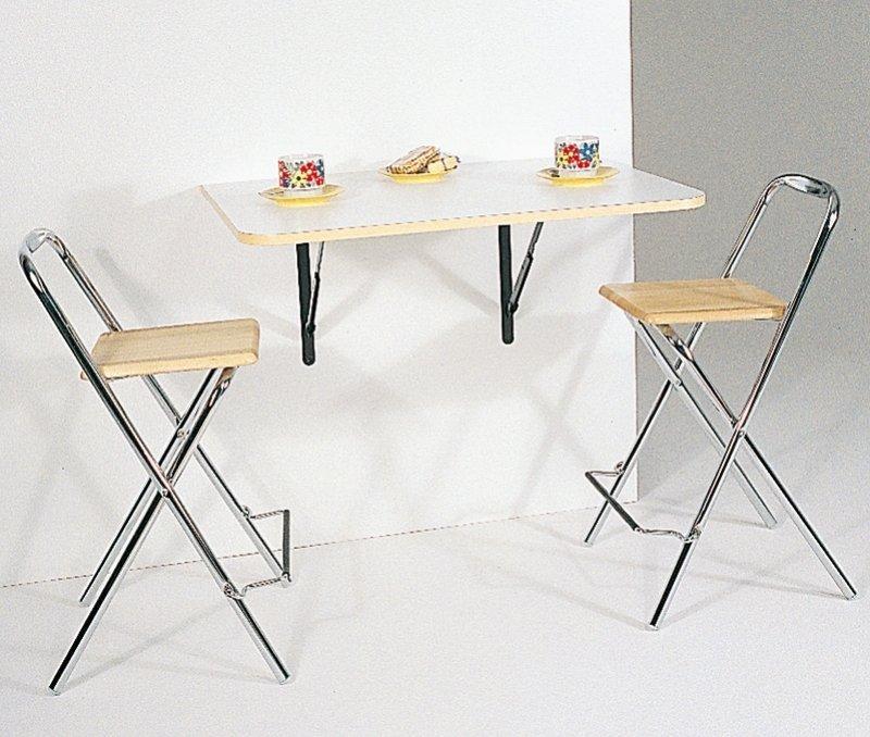 Table pliante sesamo design blanc comparer les prix de for Table pliante design