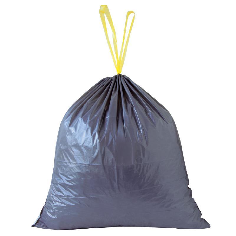 poubelles noire 50l avec poignées